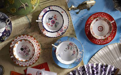 Wonderlust express: join Wedgwood on a journey of tea with Bernadine Tay
