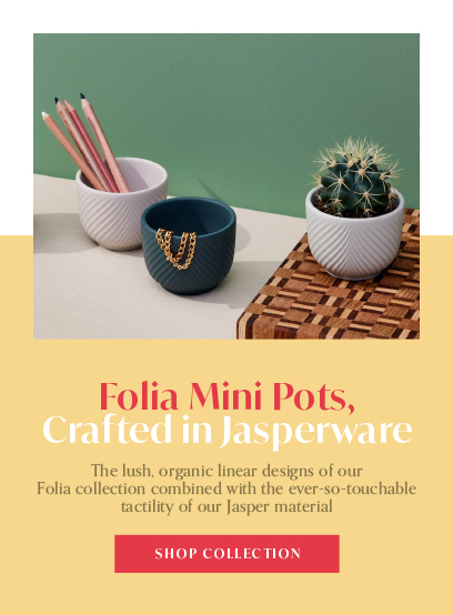 Folia Mini Pots Yellow Mobile