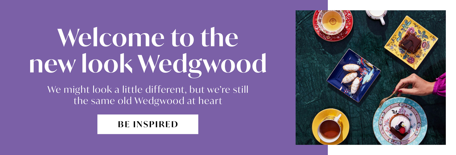 Welcome to the new look wedgwood