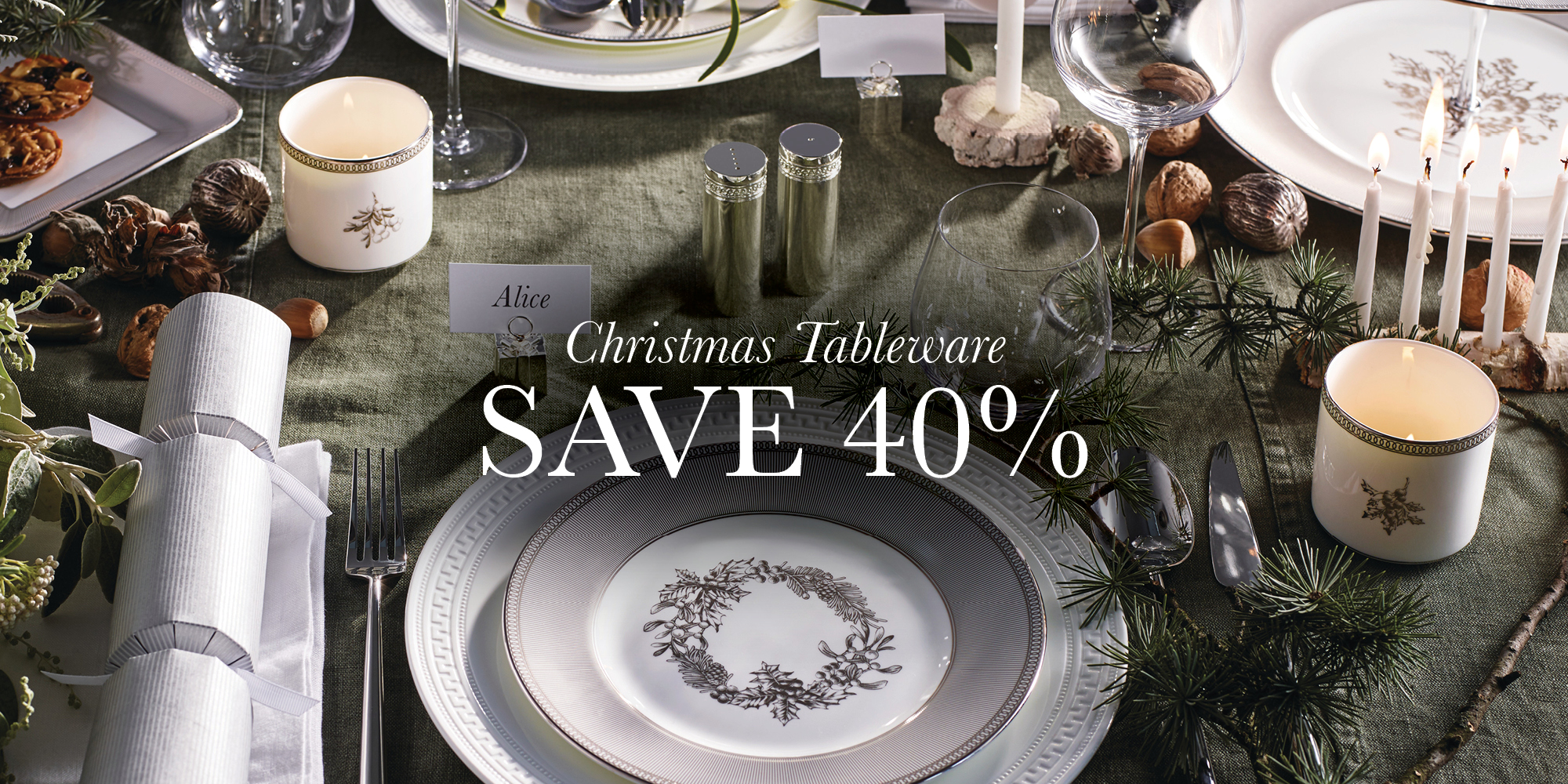 End of Year Sale Dec 18 Xmas Tableware