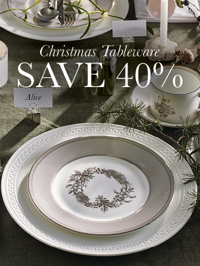 End of Year Sale Xmas Tableware Mobile