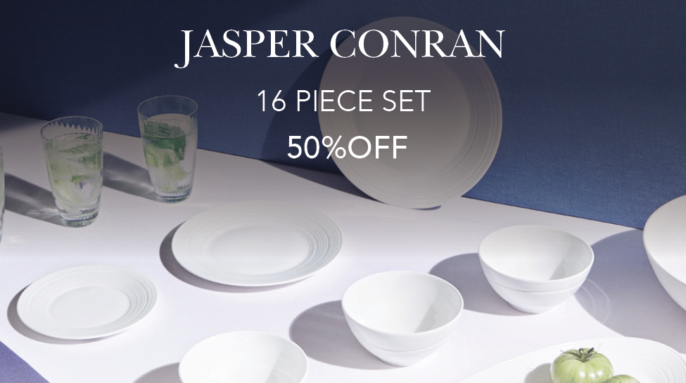 jasper 50 off 16 piece set - sub banner - nov18