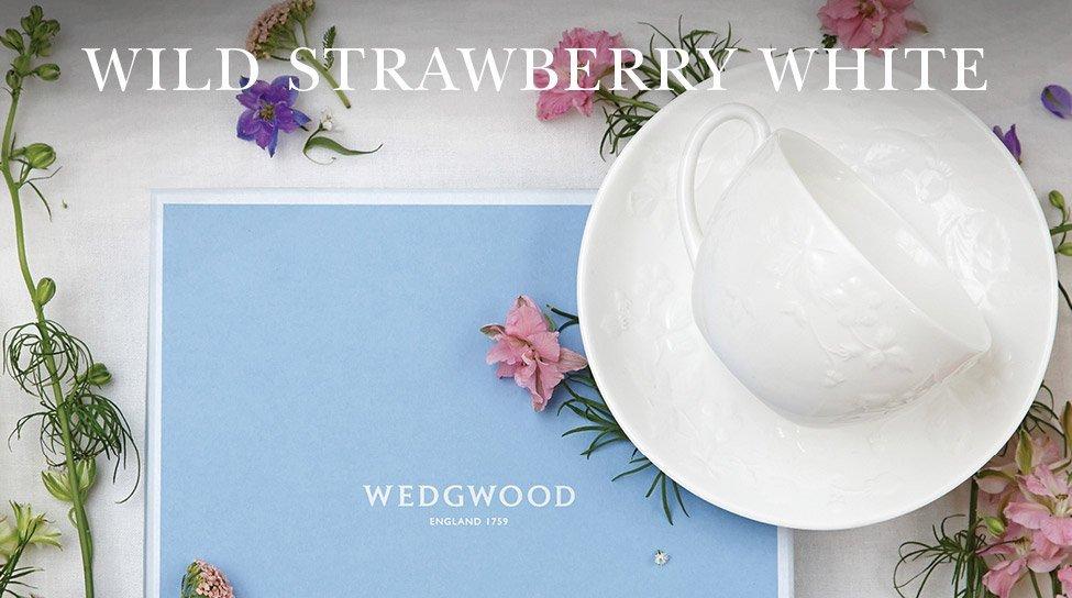 Wedgwood Wild Strawberry White Dinnerware