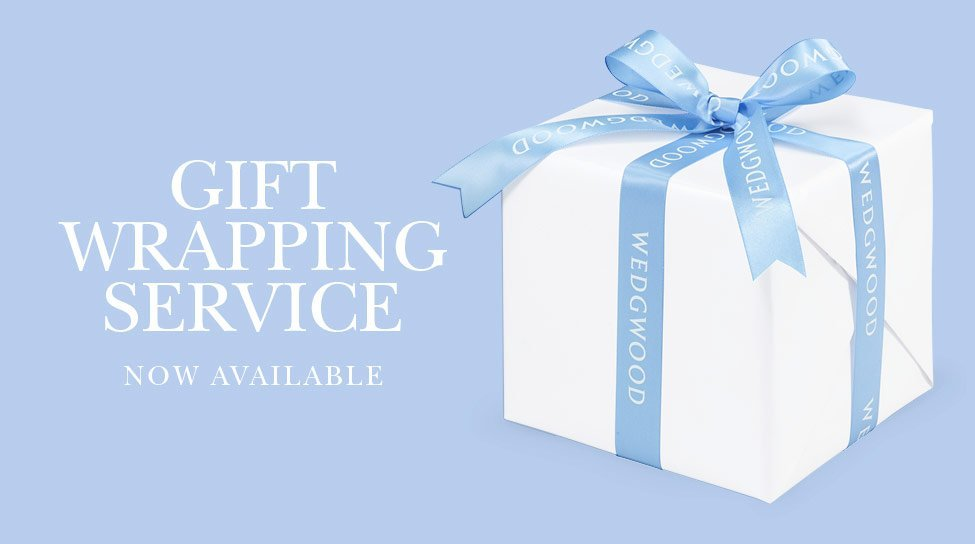 Wedgwood Gift Wrapping service