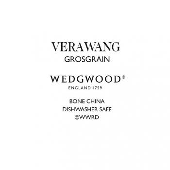 Vera Wang Grosgrain Oval Dish 39cm