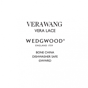 Vera Wang Lace Platinum Soup Plt 23cm