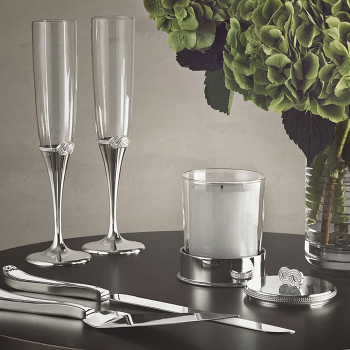 Vera Wang Infinity Cake Knife & Server Set
