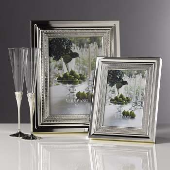 "Vera Wang With Love Silver Giftware Frame 5""x7"" (12.5x18cm)"