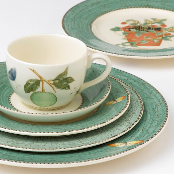 Sarah's Garden Cereal Bowl Green