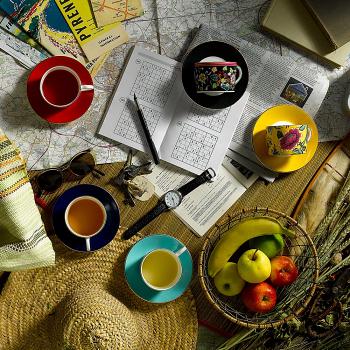 Wonderlust Camellia Teacup & Saucer