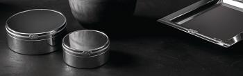 Vera Wang Infinity Round Keepsake Box 10cm