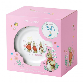 Peter Rabbit Pink 3 Piece Set