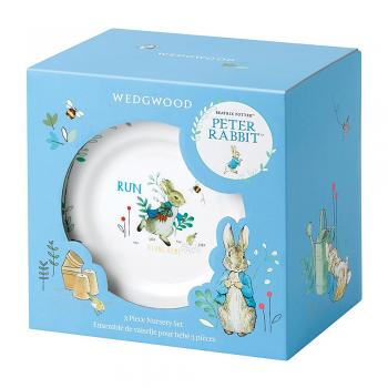 Peter Rabbit Blue 3 Piece Set