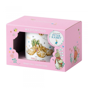 Peter Rabbit Pink Money Box