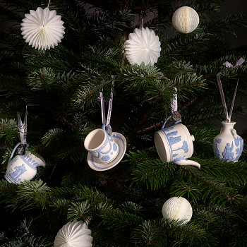 Teacup & Saucer Ornament 8cm