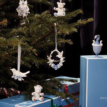 Christmas Four Calling Birds Ornament