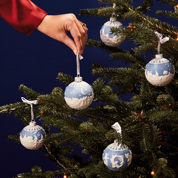 Christmas Sky at Night Bauble Ornament
