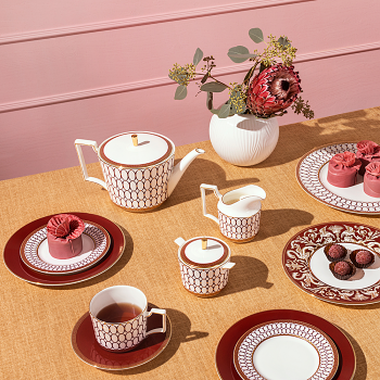 Renaissance Red Teapot