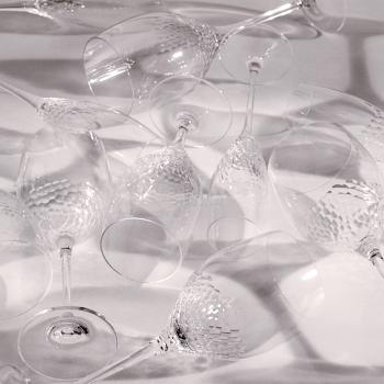 Vera Wang Sequin Crystal Wine Pair