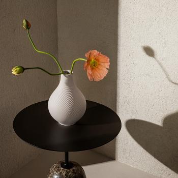 Jasper Folia Pink Bulb Vase 23cm