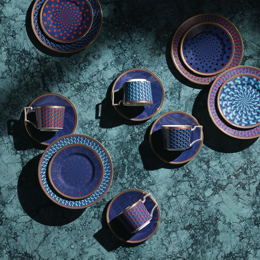 Byzance Set of 4 Espresso Cups and Saucers - Wedgwood ...