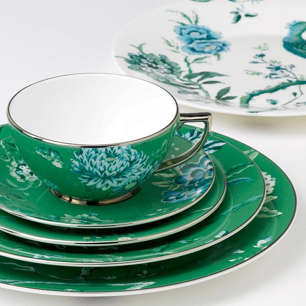 Jasper Conran At Wedgwood Chinoiserie Green Oval Open