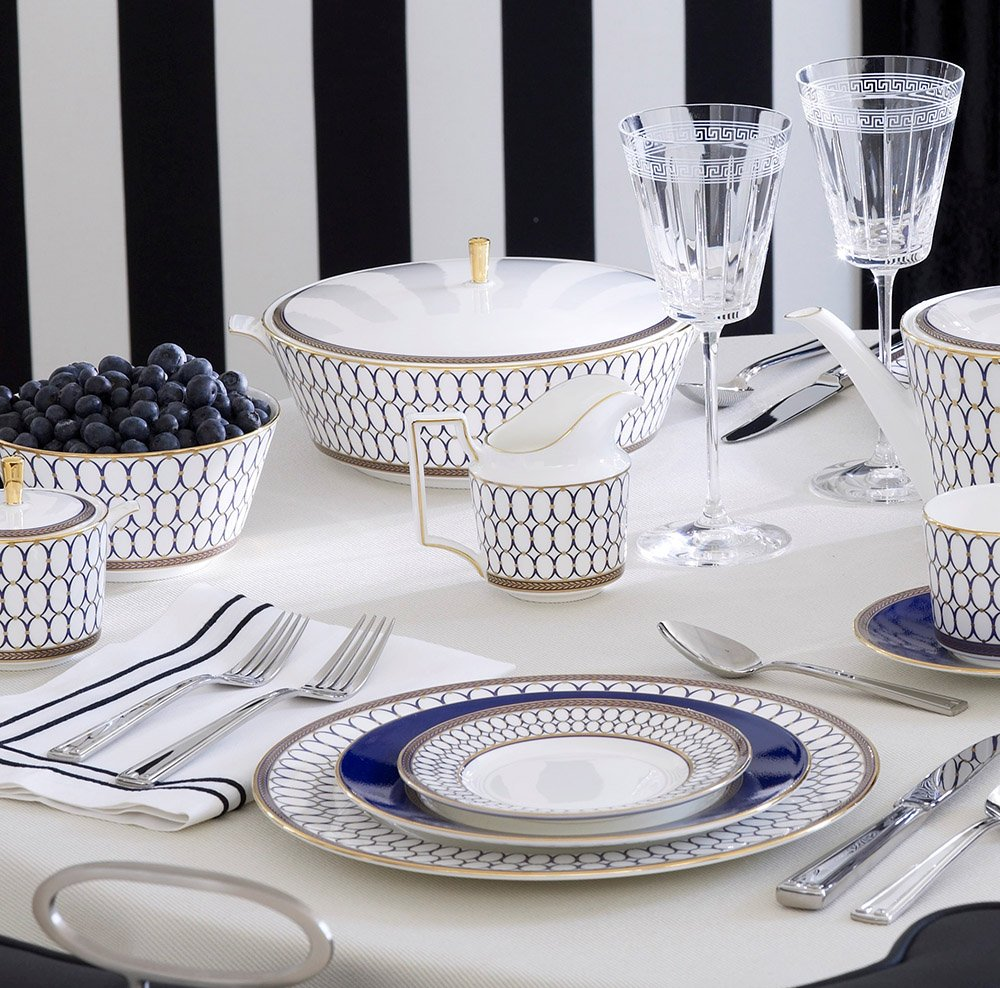 Wedgwood Renaissance Gold 5 Piece Place Setting Wedgwood