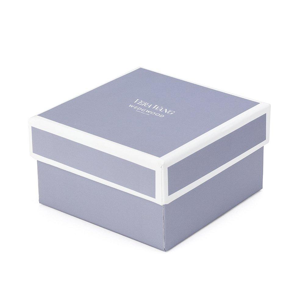 """Vera Wang Grosgrain Silver Giftware Frame 4x6"""" (10x15cm)"""