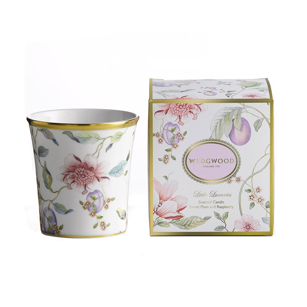 Wedgwood Baby Gifts Australia : Wedgwood little luxuries sweet plum candle