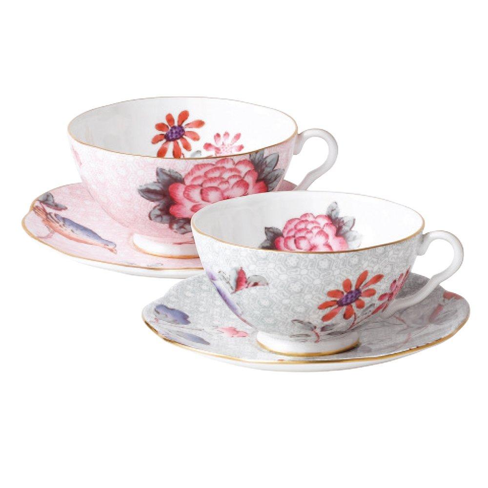 Wedgwood Baby Gifts Australia : Wedgwood cuckoo teacups saucers gift set