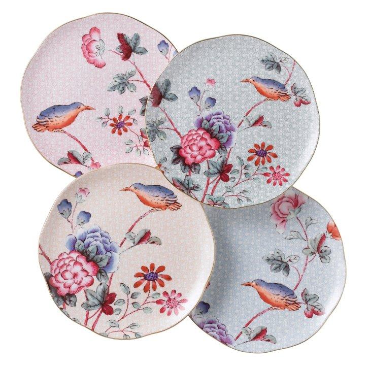 Cuckoo Set of 4 20cm Plates