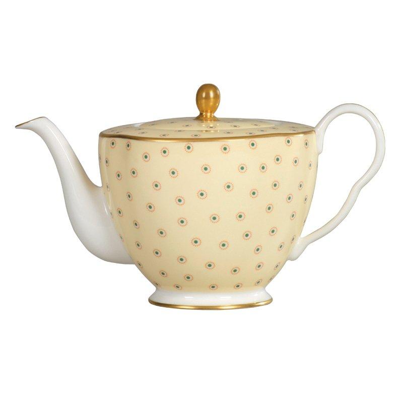 Wedgwood Polka Dot Teapot 0 37ltr Wedgwood Australia