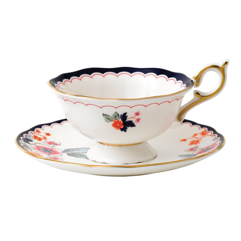 Wedgwood Baby Gifts Australia : Wedgwood wonderlust jasmine bloom teacup saucer