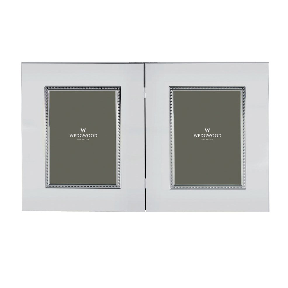 wedgwood wish giftware twin frame 5x7 125x18cm