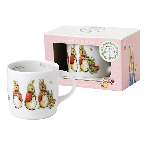 Wedgwood Baby Gifts Australia : Wedgwood peter rabbit girl single handled mug