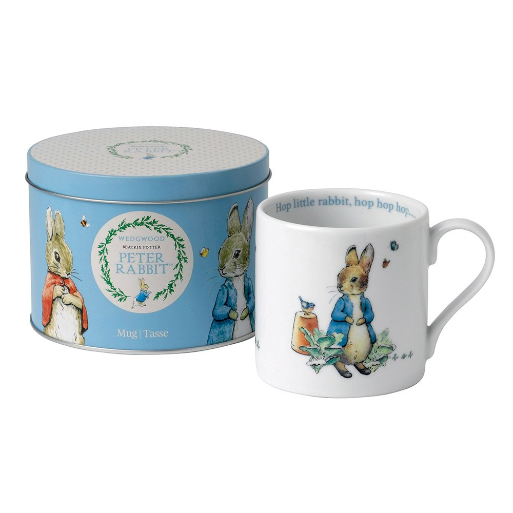 Wedgwood Baby Gifts Australia : Wedgwood peter rabbit boy large mug in tin