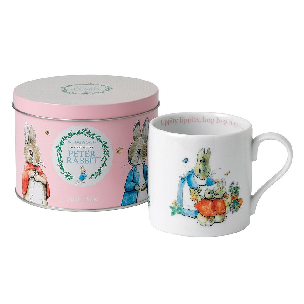 Wedgwood Baby Gifts Australia : Wedgwood peter rabbit girl large mug in tin