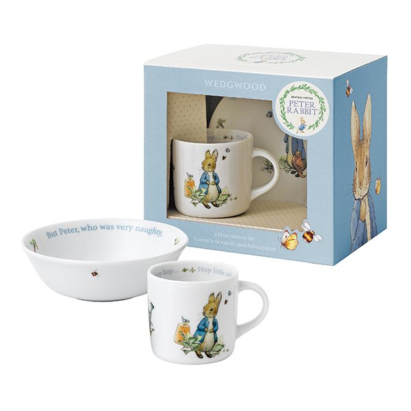 Wedgwood Baby Gifts Australia : Wedgwood peter rabbit boy piece set wedgwood? australia