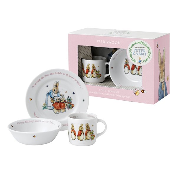 Beatrix Potter Baby Gifts Australia : Wedgwood peter rabbit girl piece set wedgwood? australia