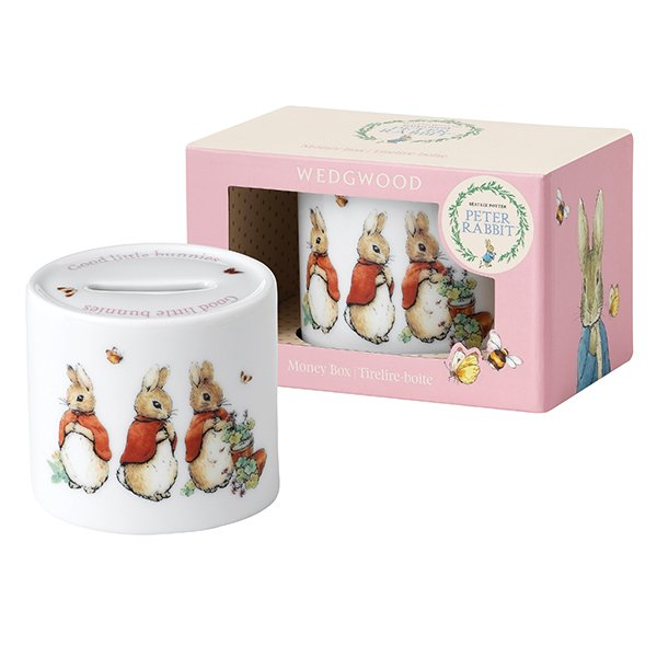 Beatrix Potter Baby Gifts Australia : Wedgwood peter rabbit girl moneybox wedgwood? australia
