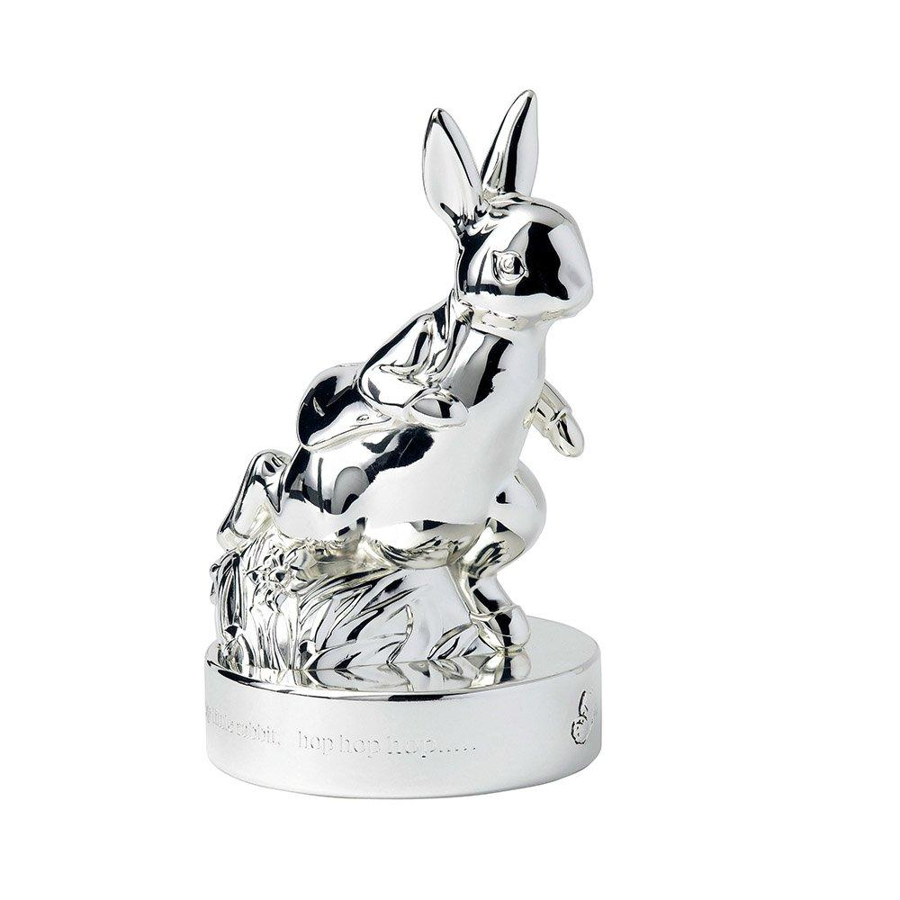 Peter Rabbit Silver Money Box Wedgwood 174 Australia