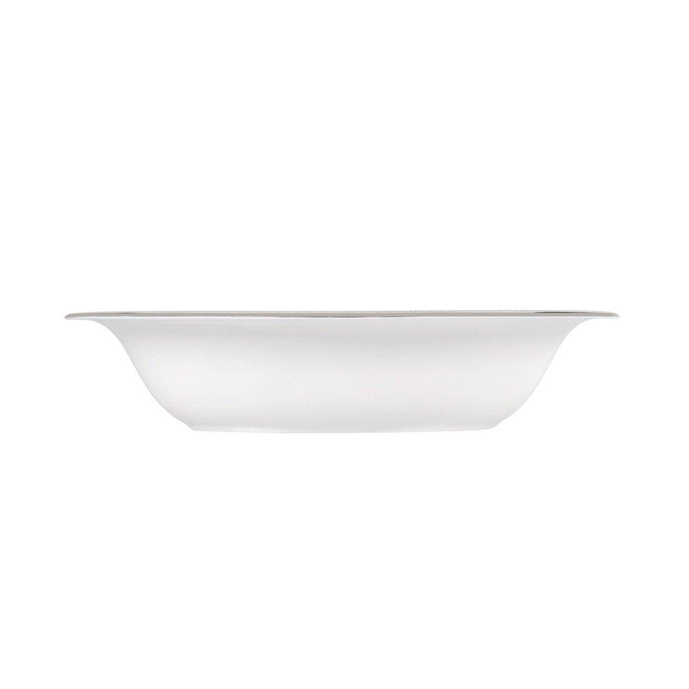 Vera Wang Lace Platinum Open Vegetable Dish 24cm