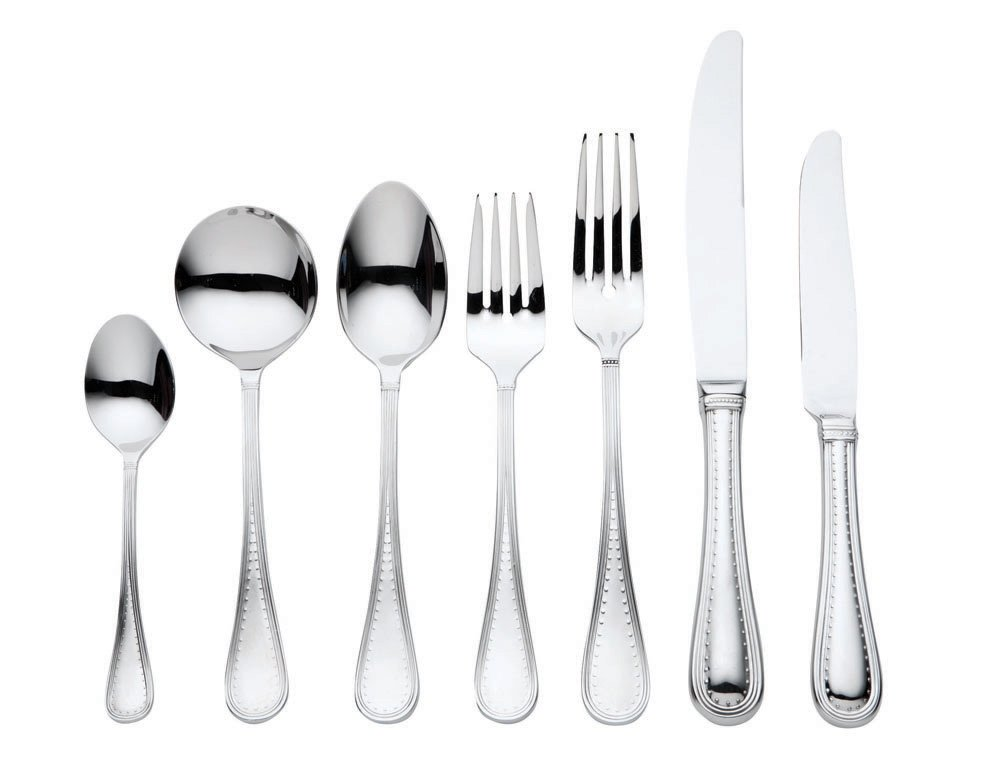 Vera Wang Wedgwood Cutlery Grosgrain 56 Piece Cutlery Set