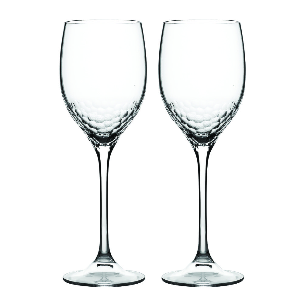 Vera Wang Sequin Crystal Wine Pair