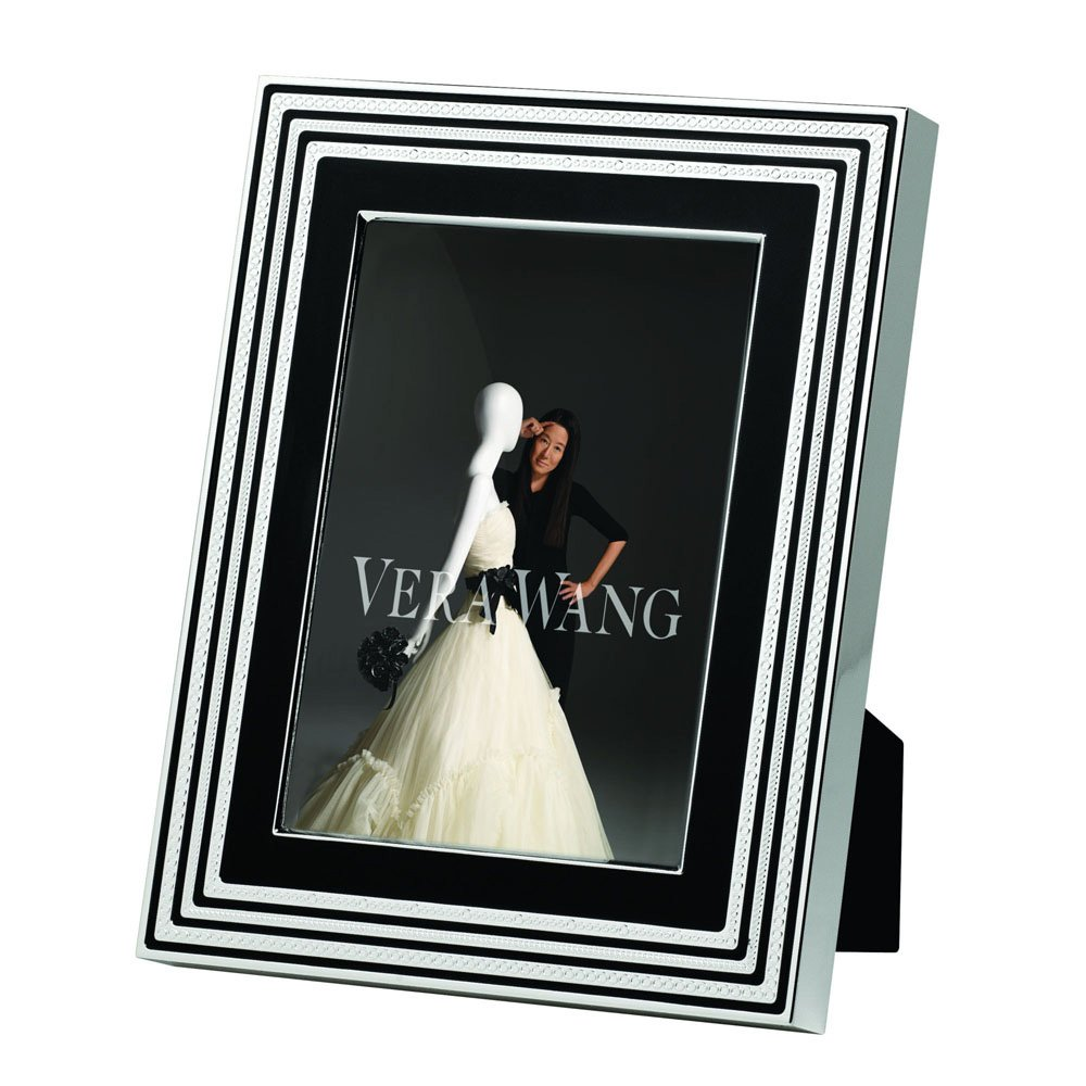 "Vera Wang With Love Noir Silver Giftware Frame 5""x7"" (12.5x18cm)"