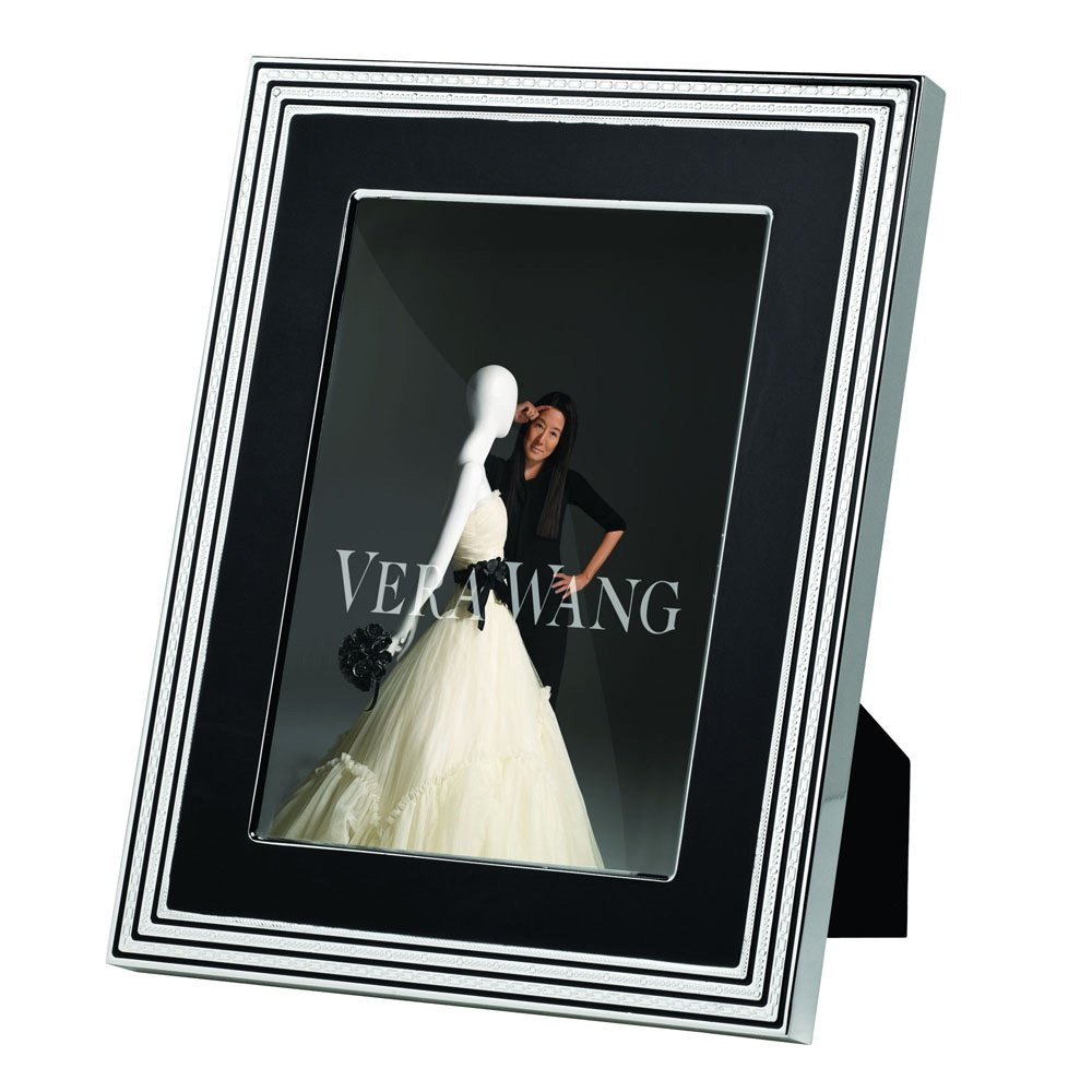 "Vera Wang With Love Noir Silver Giftware Frame 8""x10"" (20x25cm)"