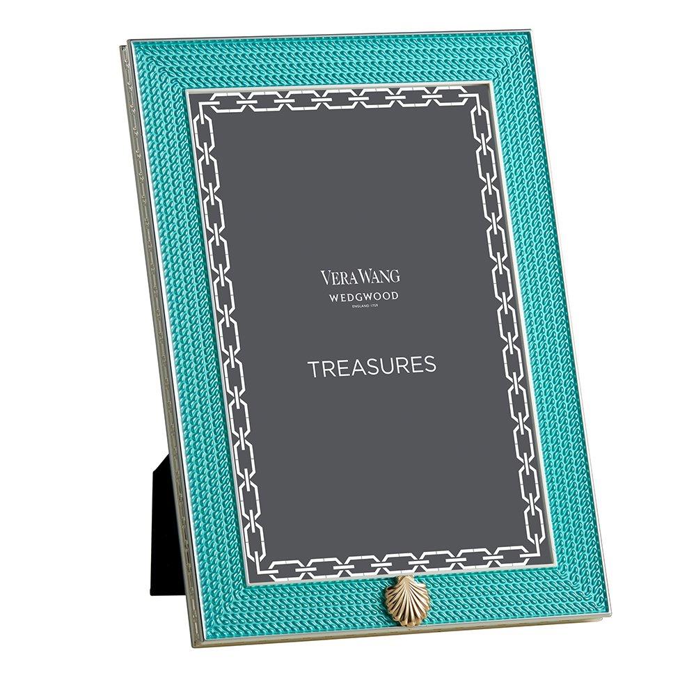 Vera Wang Baby Gifts Australia : Vera wang wedgwood with love treasures aqua seashell quot x