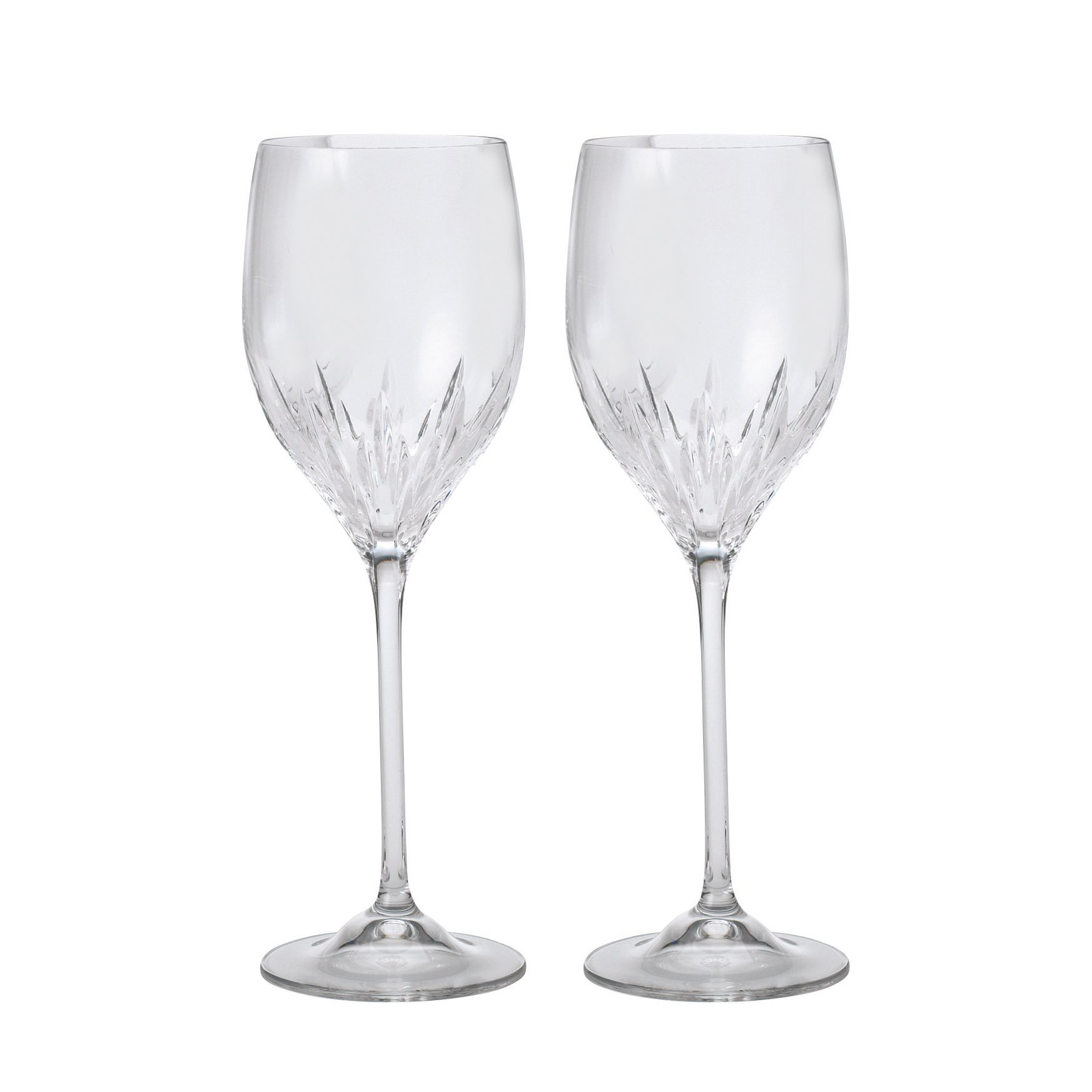 Vera Wang Duchesse Crystal Wine set of 2
