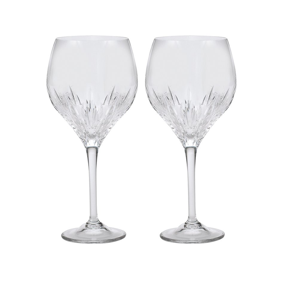 Vera Wang Duchesse Crystal Goblet set of 2