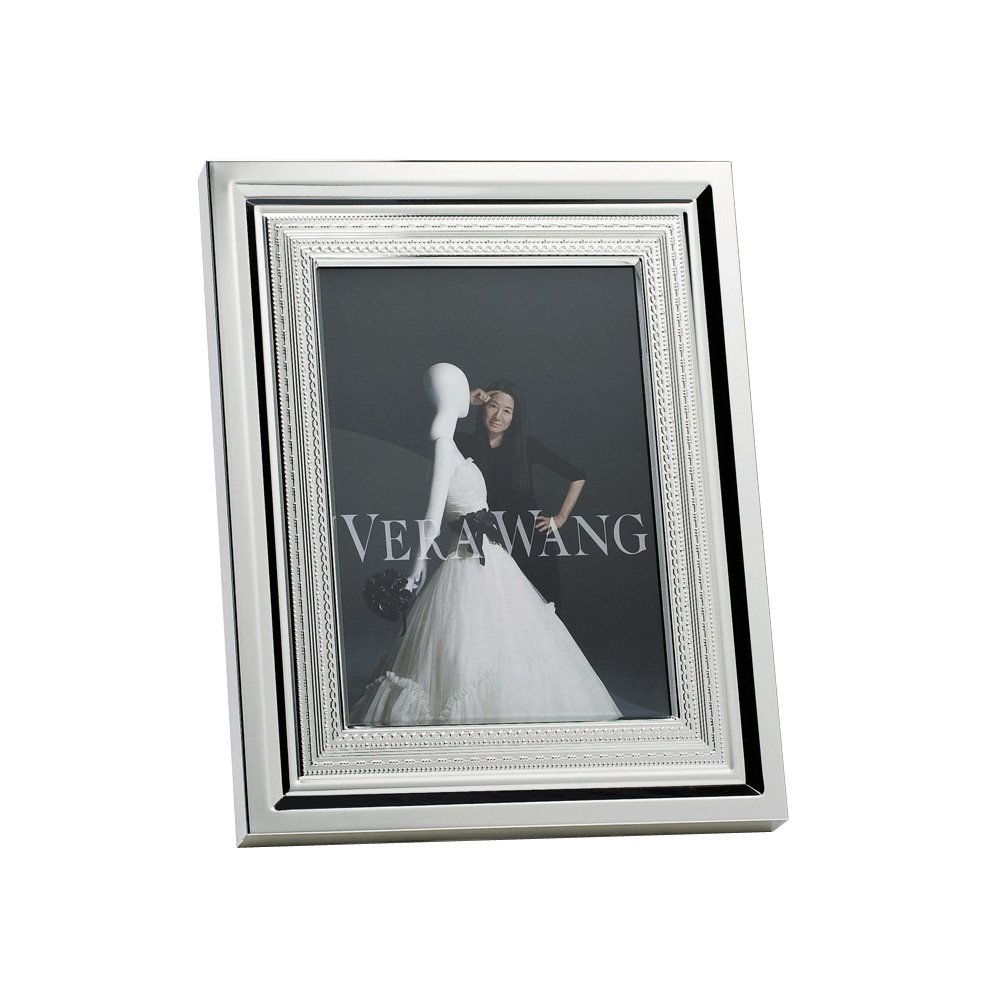 Vera Wang Wedgwood With Love Silver Giftware Frame 8\